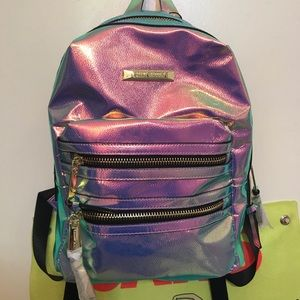 Multi chrome backpack